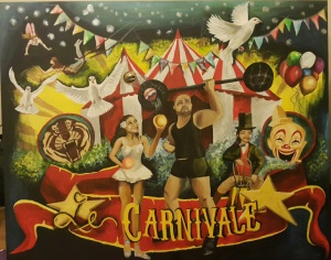 Le Carnivale 4' x 6' Acrylic on Canvas
